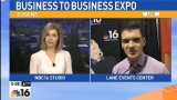 #LiveOnKMTR from the Business to Business Expo
