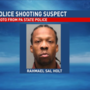 Driver arrested, manhunt continues in deadly police shooting