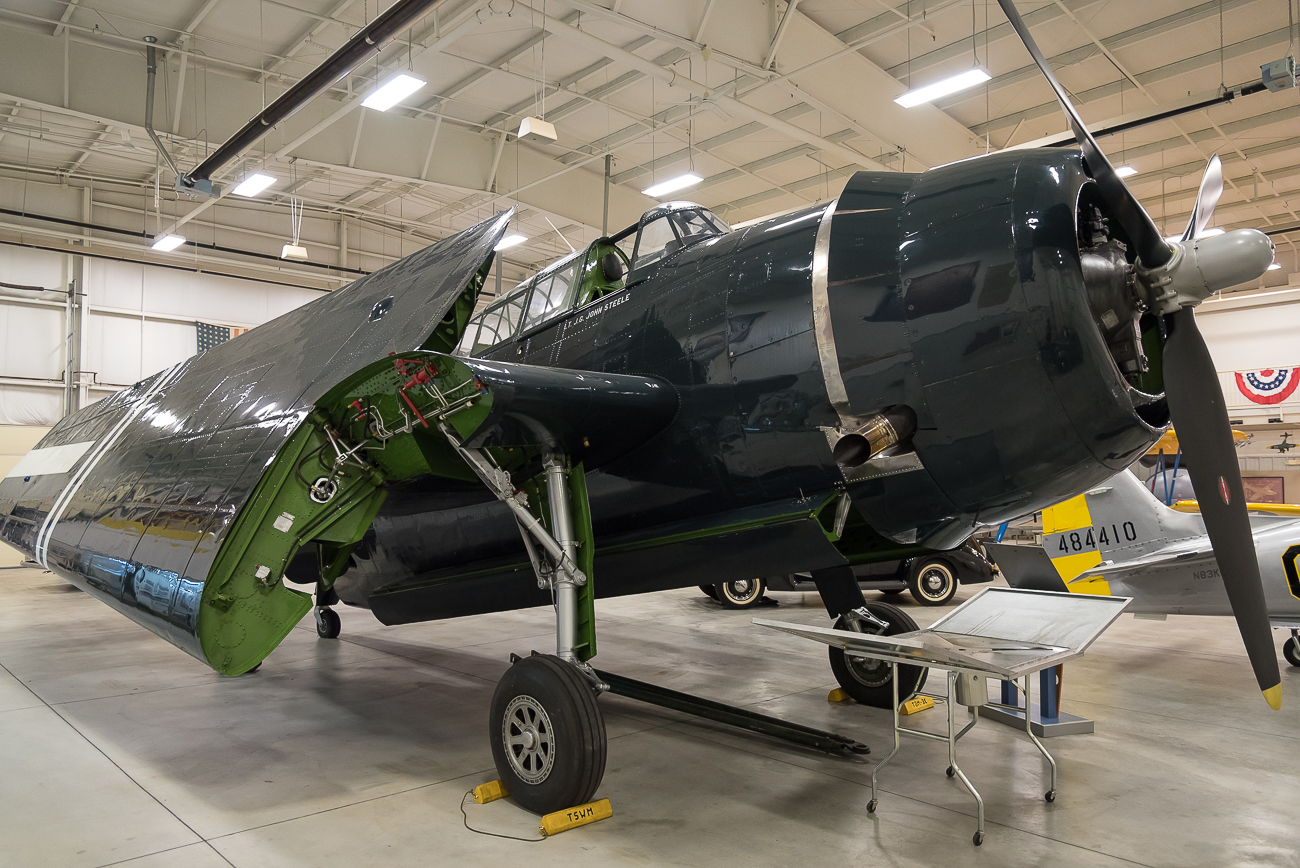 Eastern Aircraft TBM-3 Avenger / Image: Phil Armstrong, Cincinnati Refined // Published: 9.6.17