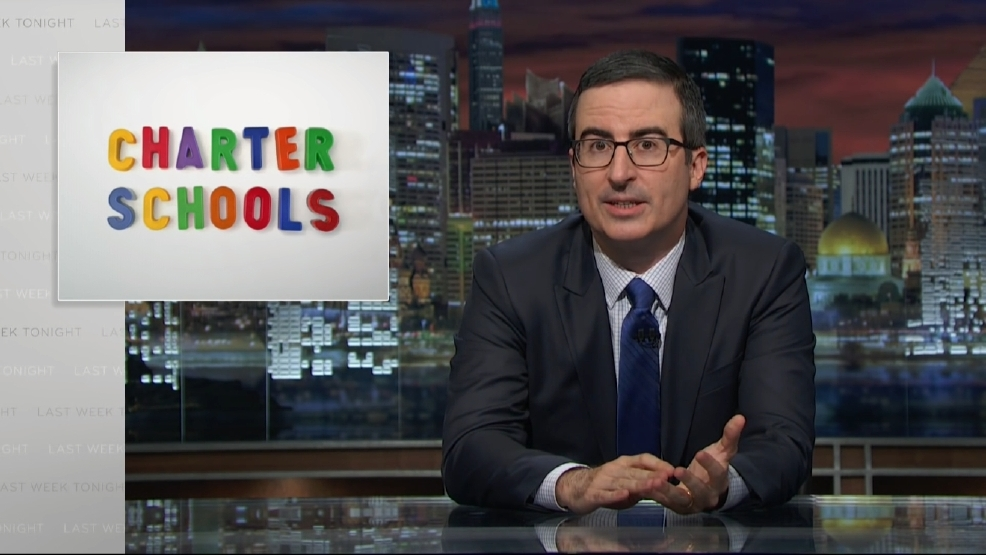 Charter school community comes out swinging against John Oliver