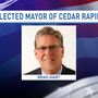 Brad Hart elected mayor of Cedar Rapids