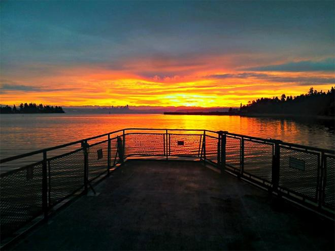Bainbridge Sunrise (Shawn Davids)