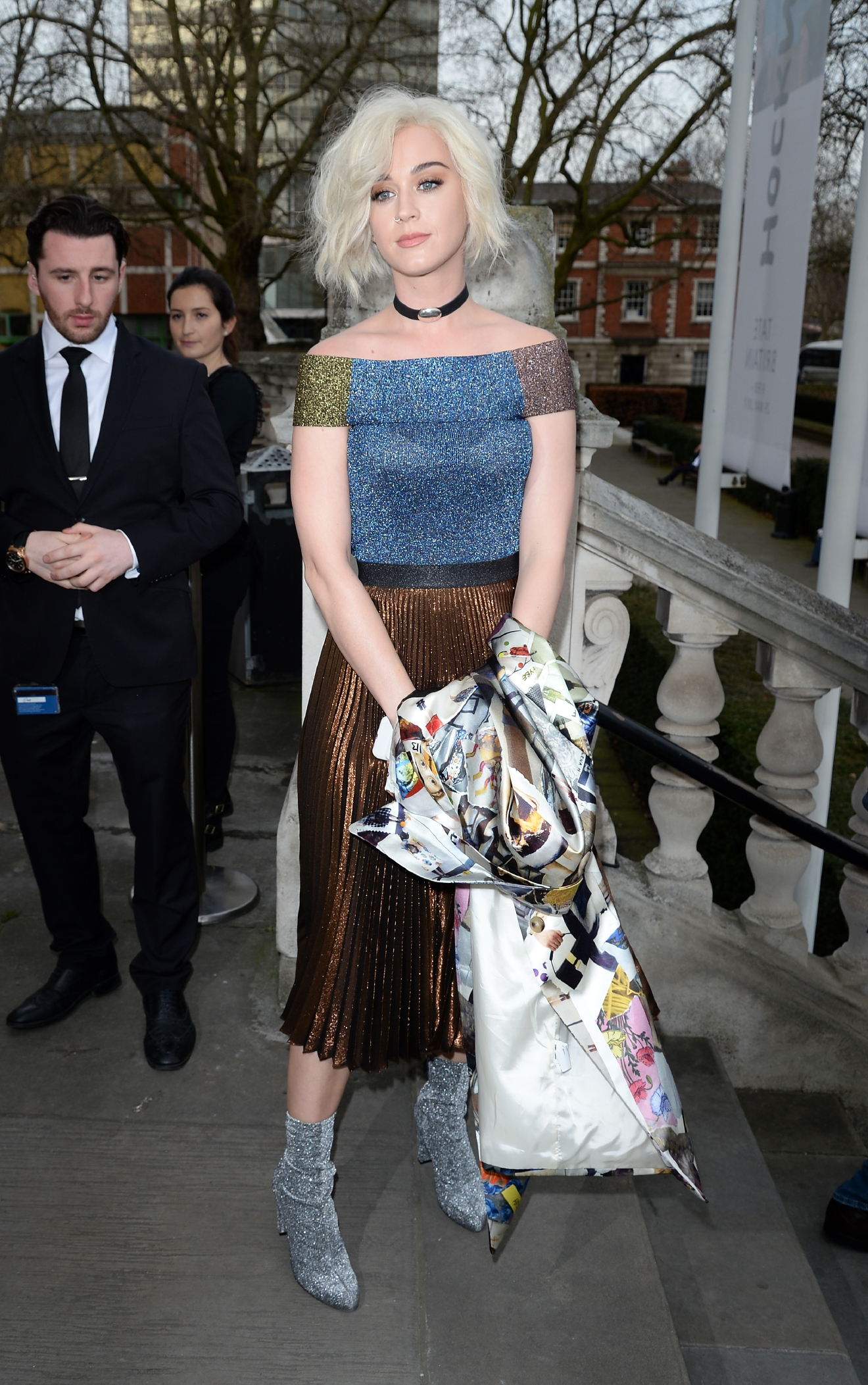 London Fashion Week 2017 - Christopher Kane - Outside Arrivals  Featuring: Katy Perry Where: London, United Kingdom When: 20 Feb 2017 Credit: Tony Oudot/WENN