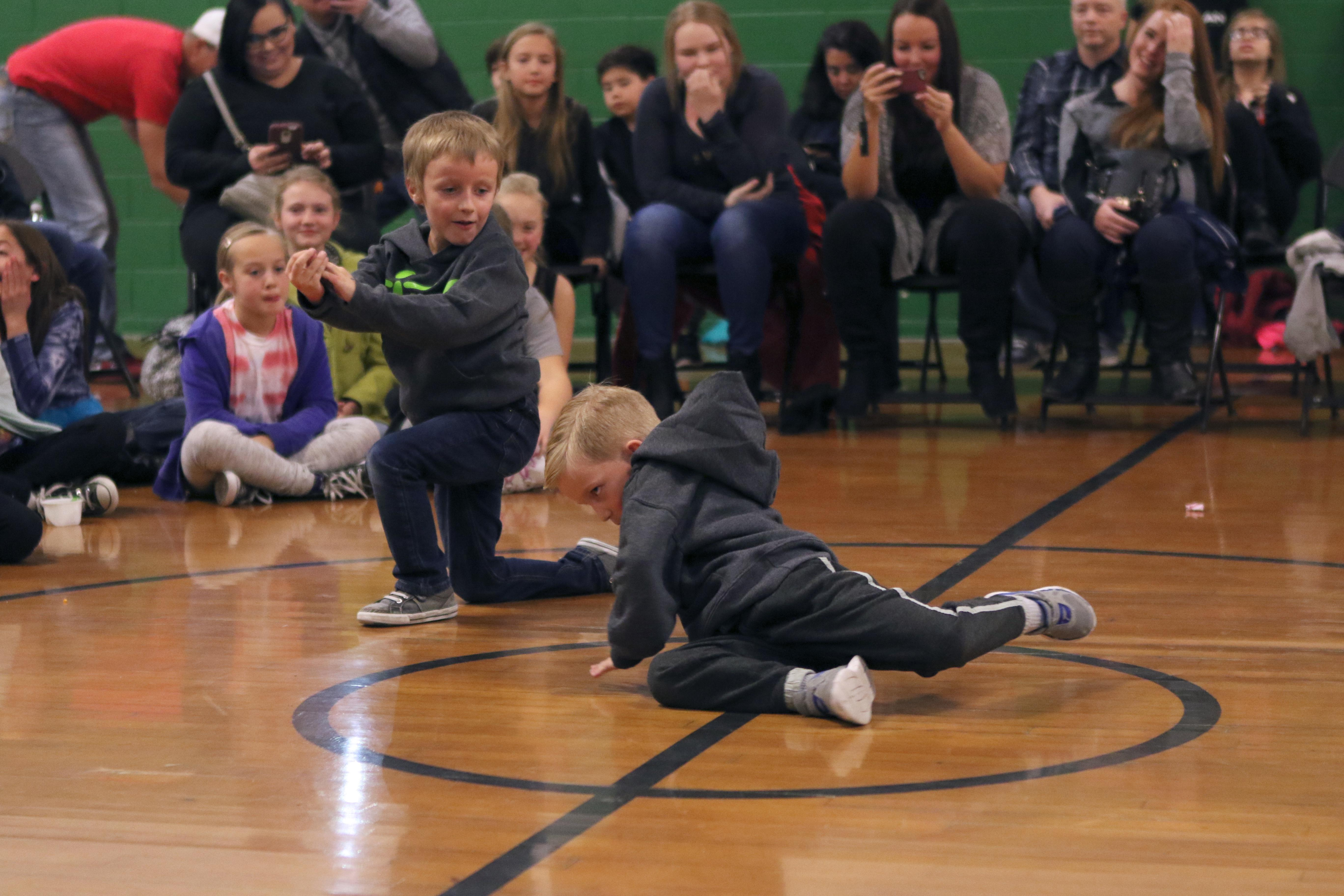 Last year's dance battle (Photo provided by Laurie Brady)<p></p>
