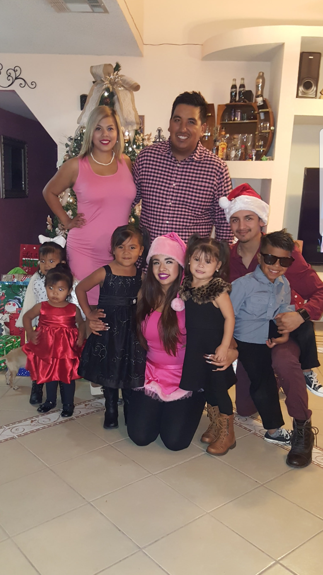 Juan Jaquez with family. Sheriff's investigators said he was killed Sunday, Jan. 14, 2018 during a shooting involving an off-duty Border Patrol agent.