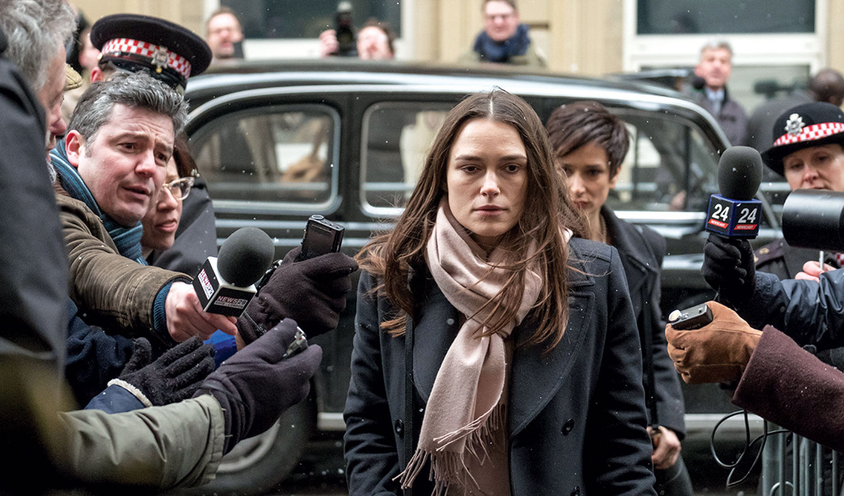 <p>In the wake of &quot;Vice&quot;, Adam McKay's comedic profile of Dick Cheney and quasi-expose of the Iraq War, we have another film that questions events surrounding the invasion in the Middle East. Based on true events, &quot;Official Secrets&quot; tells the story of Katharine Gun (Keira Knightley), a translator for Britain's intelligence agency who comes across a memo that changes history forever. Directed by South African filmmaker Gavin Hood, the film poses many questions about loyalty to country and morality to humanity. Ralph Fiennes, Matthew Goode and Rhys Ifans round out the all-star cast. (Image: SIFF)</p>