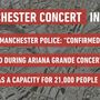 UK police: 'a number of fatalities' at Grande concert