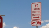 Line of cars near Tornillo Port of Entry almost gone thanks to new 'no parking' signs