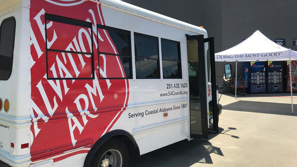 (WPMI) Salvation Army's 'Stuff the Bus' school supply drive in Daphne