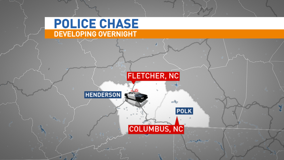 Driver still at large after 2county chase escape on foot WLOS