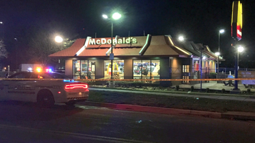 Police investigating double shooting outside of McDonald's ...