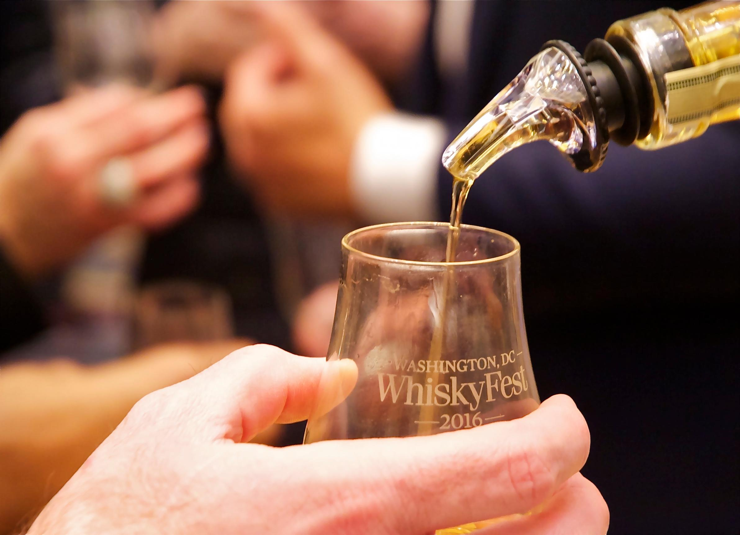 WhiskyFest gives fans the chance to sample whiskies from around the world, including single and blended Scotch, Irish, Bourbon, rye, Tennessee, Japanese and Canadian. (Image: Courtesy WhiskeyFest)