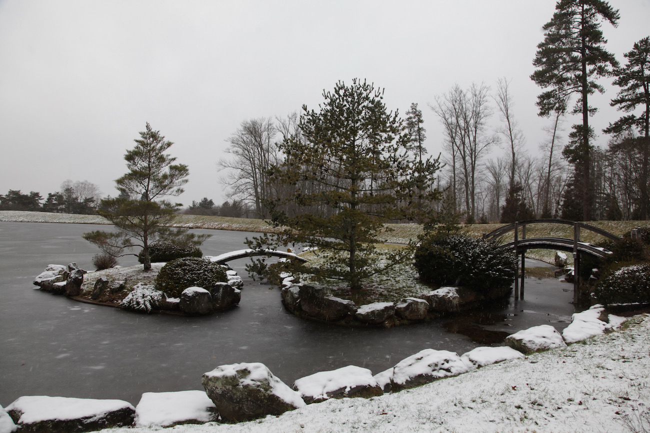 Pictured is the Japanese Garden at Dawes Arboretum, which includes nearly 2,000 acres of gardens, natural areas, eight miles of hiking trails, a four-mile driving tour, and some 17,000 plants. ADDRESS: 7770 Jacksontown Road, Newark, Ohio (43056) / Image: Chez Chesak // Published: 2.12.21