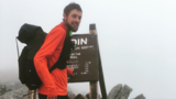 Sprint to the finish yields a new Appalachian Trail record