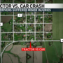 Tractor vs car injures two in northeast Missouri