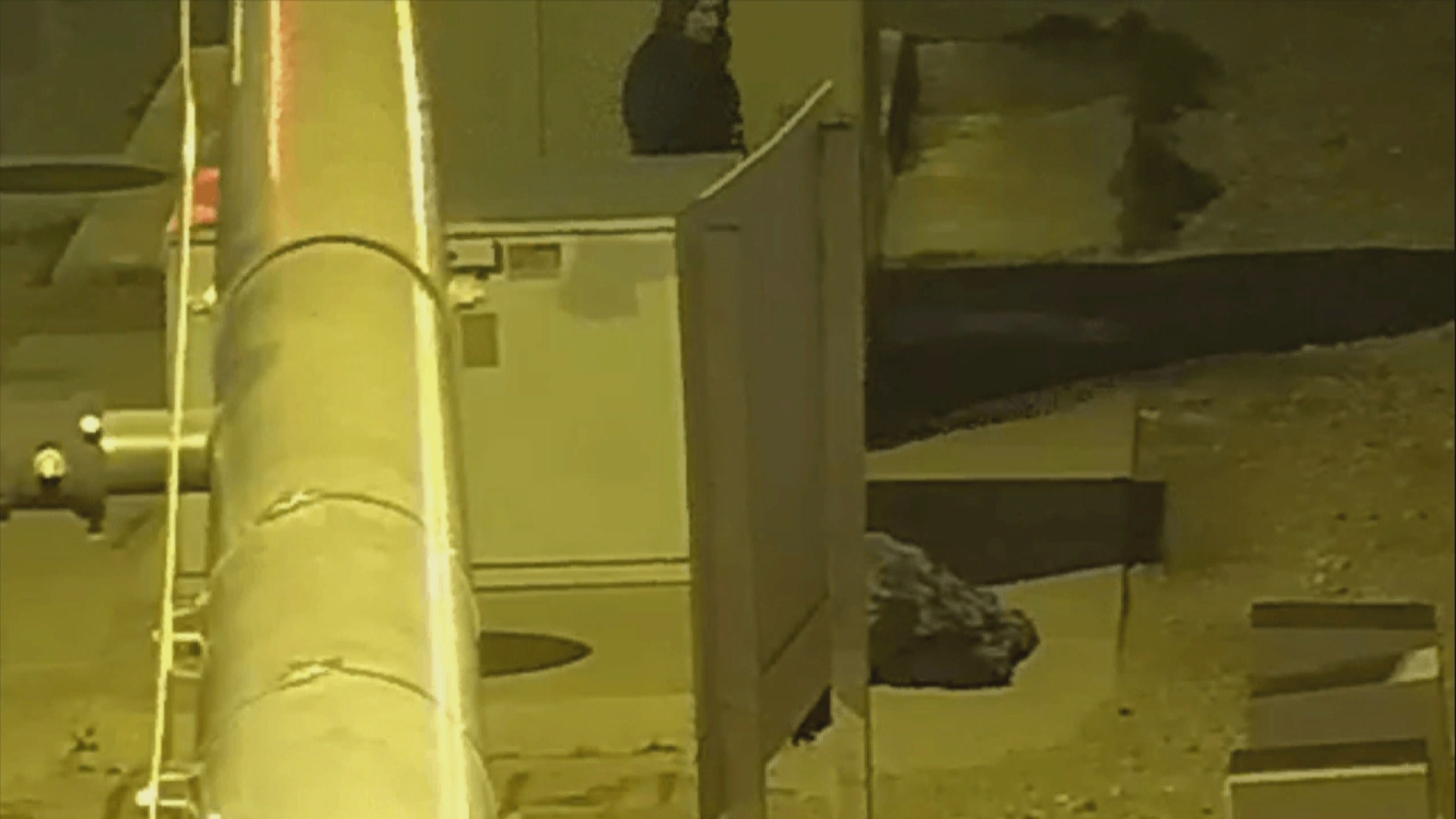 Surveillance video taken on the morning of Thursday, Feb. 23, 2017, shows a suspect attacking a mannequin near downtown Las Vegas as part of a Las Vegas Metropolitan Police Department sting operation. (LVMPD)