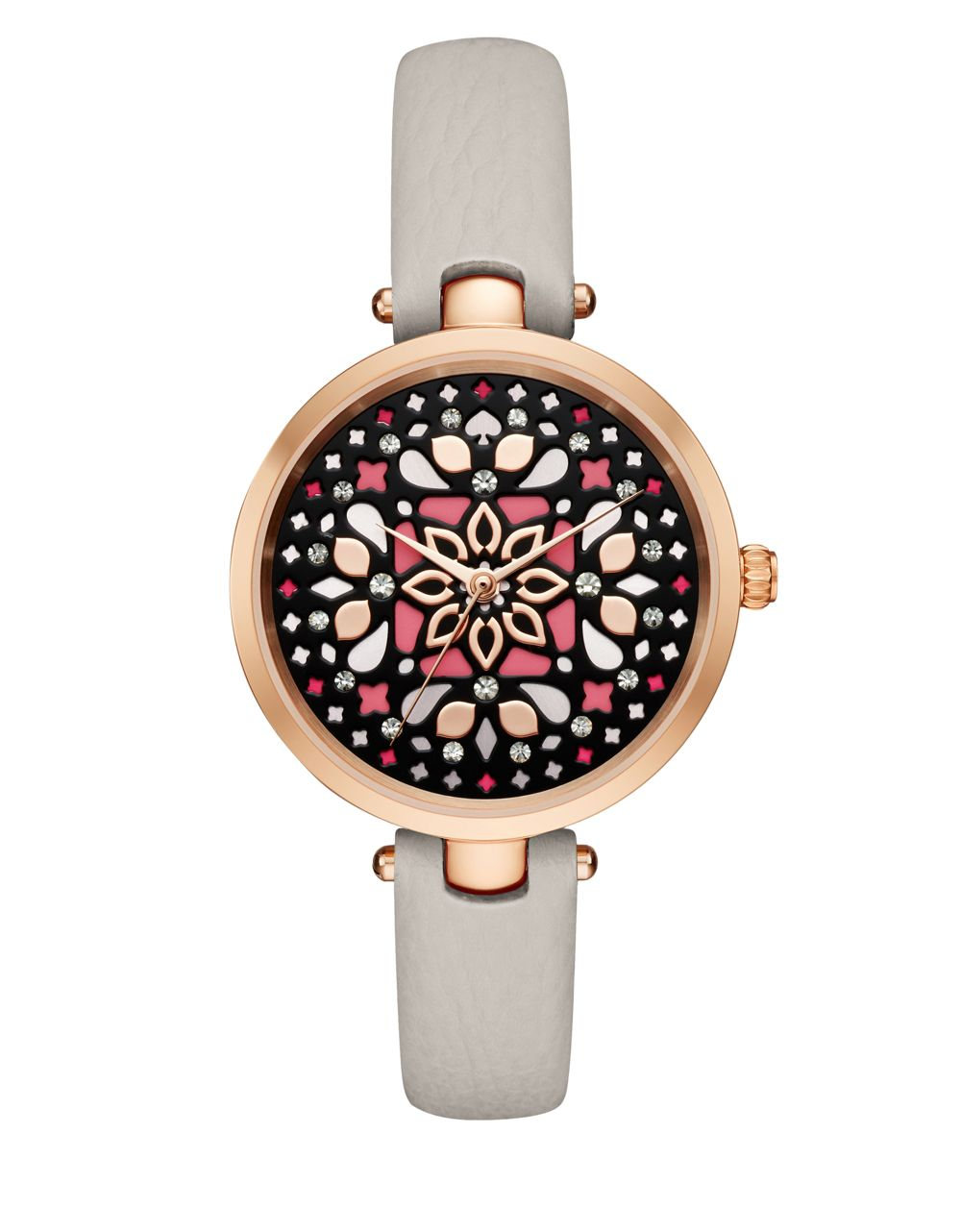 Kate Spade Mosaic Dial Round Analog Watch // Price: $195 // Purchase at Lord & Taylor stores // (Photo: Lord & Taylor)