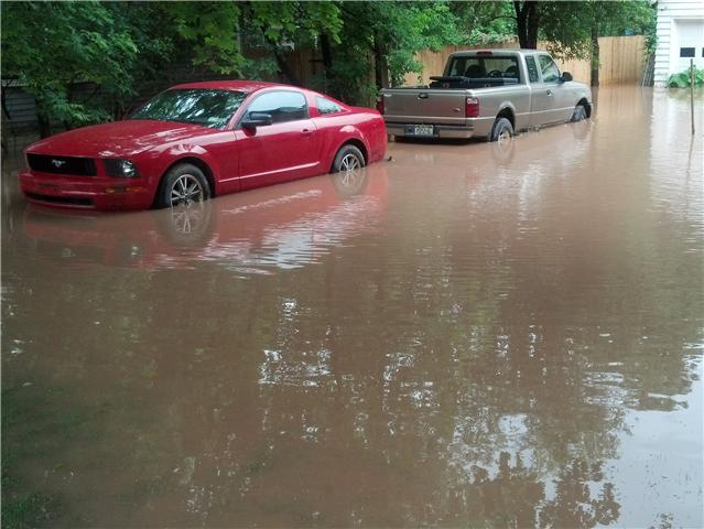 Flooding in Clinton