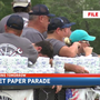 Mobile holds its annual Labor Day toilet paper parade
