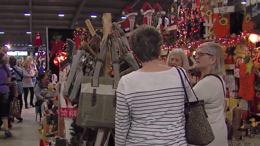 Oklahoma 39 s biggest craft show an affair of the heart for Largest craft shows in the us