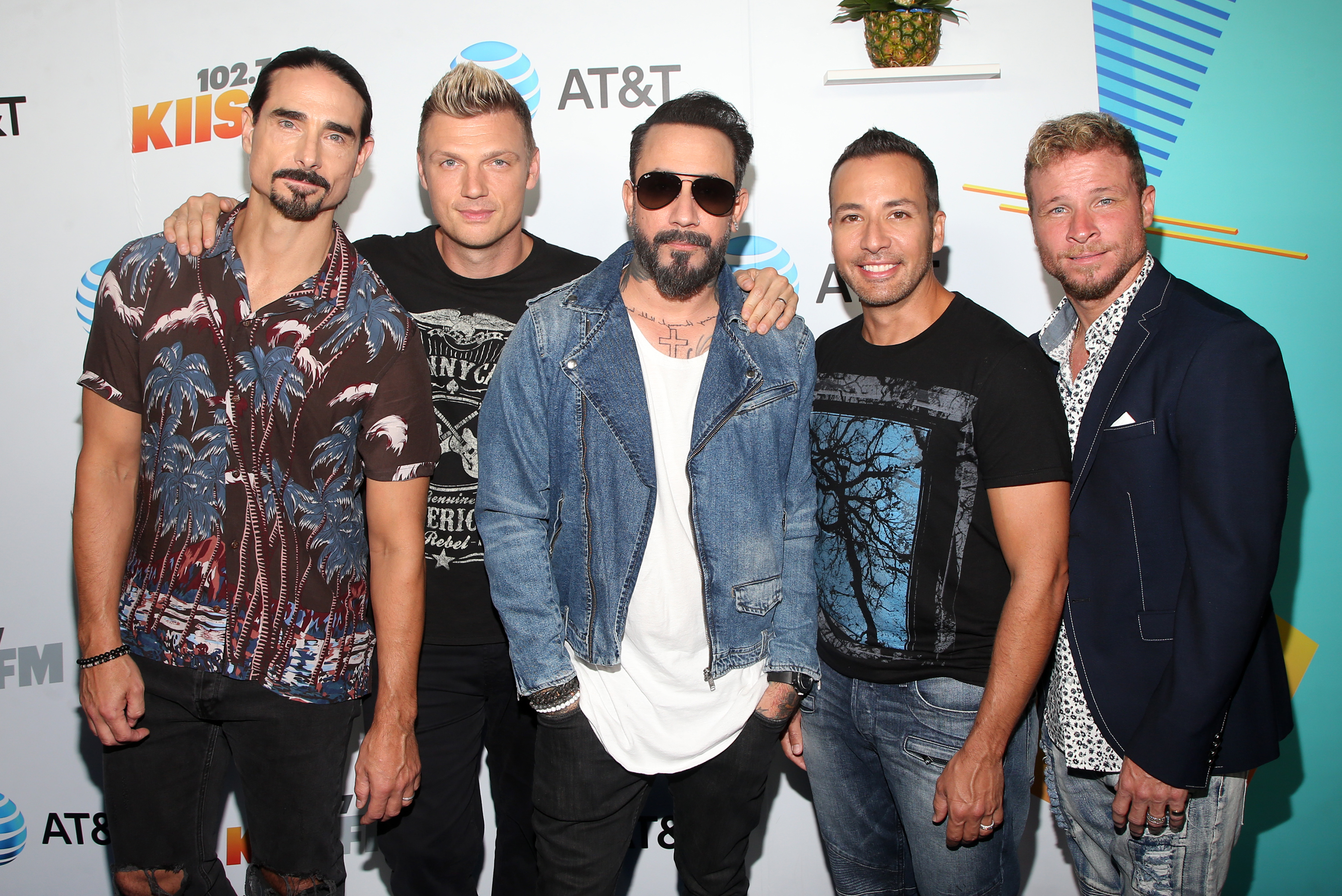 2018 iHeartRadio's Wango TangoFeaturing: Kevin Richardson, Nick Carter, AJ McLean, Howie Dorough, and Brian Littrell of music group Backstreet BoysWhere: Los Angeles, California, United StatesWhen: 02 Jun 2018Credit: FayesVision/WENN.com