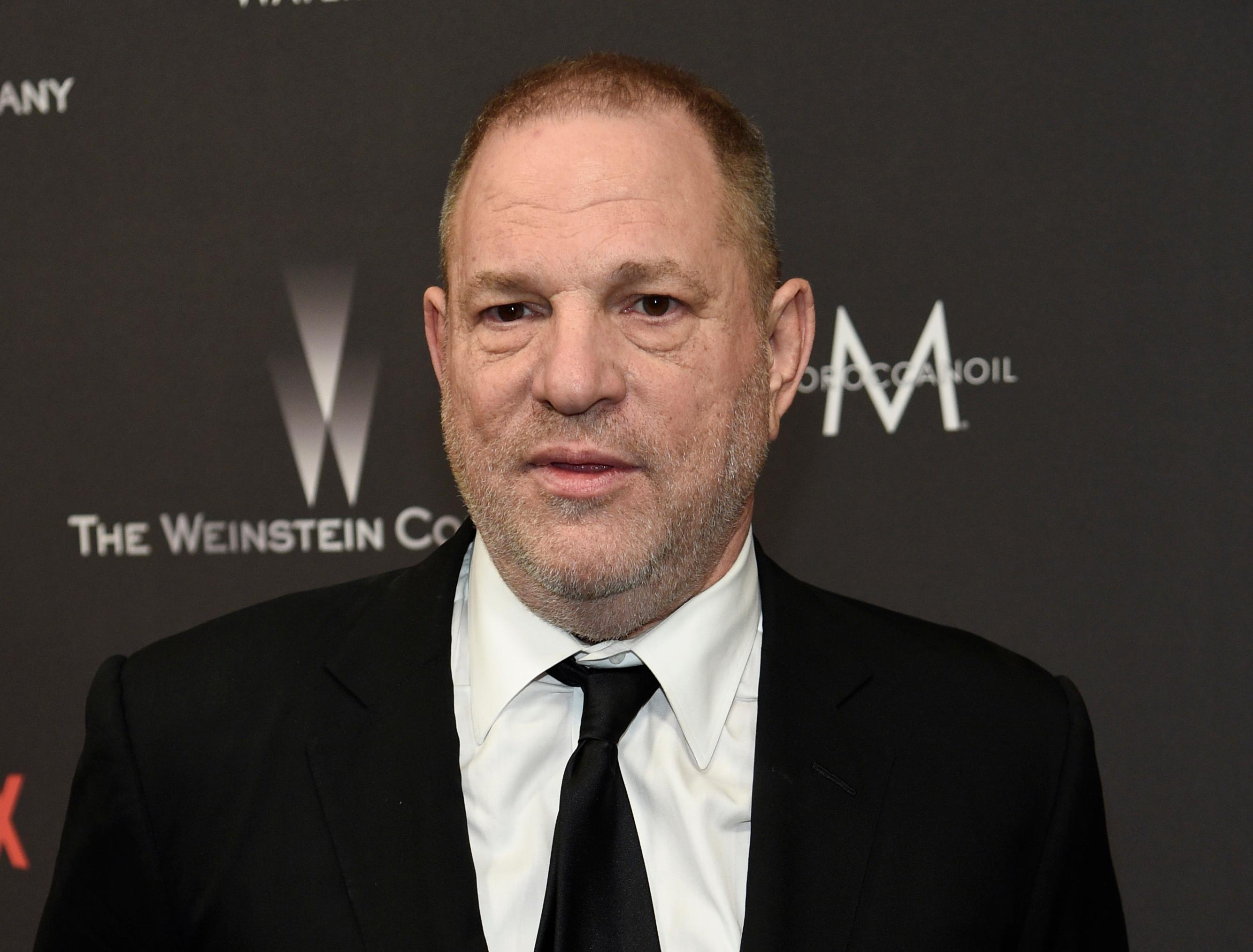 FILE - In this Jan. 8, 2017 file photo, Harvey Weinstein arrives at The Weinstein Company and Netflix Golden Globes afterparty in Beverly Hills, Calif. New York state's top prosecutor has launched a civil rights investigation into The Weinstein Co. following sexual assault allegations against Hollywood producer Harvey Weinstein. Attorney General Eric Schneiderman announced the probe Monday. His office says it issued a subpoena seeking all company records (Photo by Chris Pizzello/Invision/AP, File)