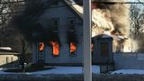 Cause of morning fire in vacant Easton home under investigation