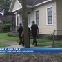 Mobile police walk neighborhood after recent homicide
