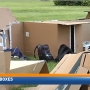 Kids in Boxes collect food for local pantry and sleep in a Richland park