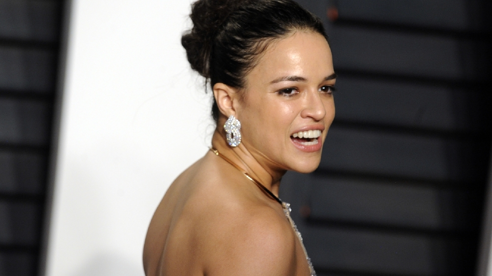 Michelle Rodriguez compares gender wage gap to slavery