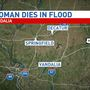 Flood waters claim life of woman in Vandalia