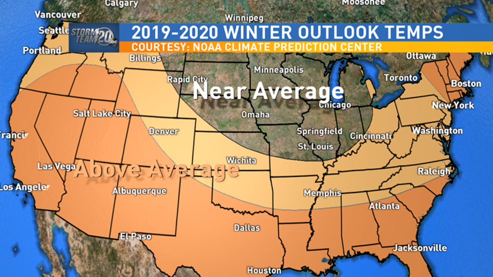 Noaa Winter 2020 Predictions.Noaa Climate Prediction Center Issues 2019 2020 Winter