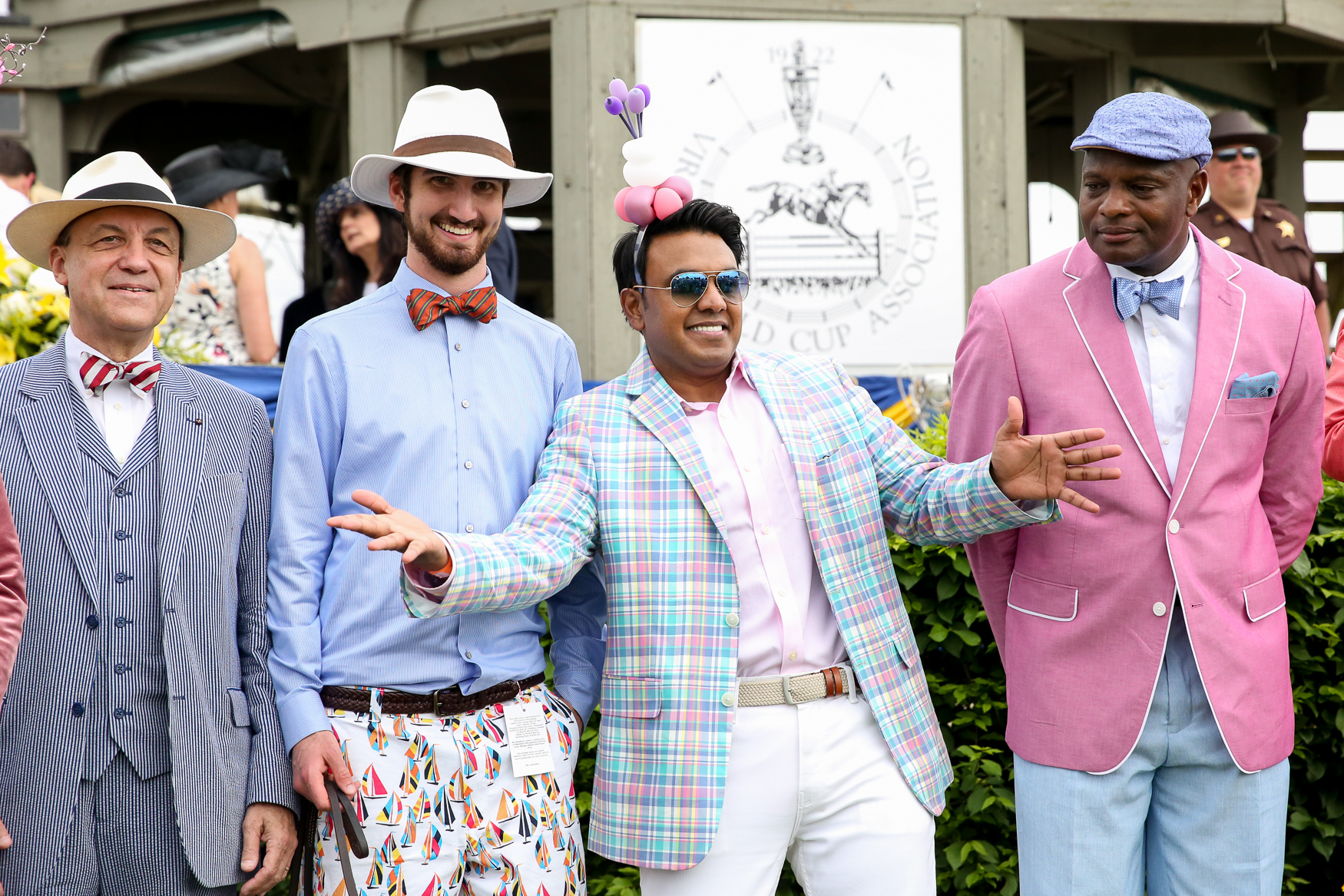 These guys were competing to be the most fashionable man, but we liked everyone's style!{ } (Amanda Andrade-Rhoades/DC Refined)