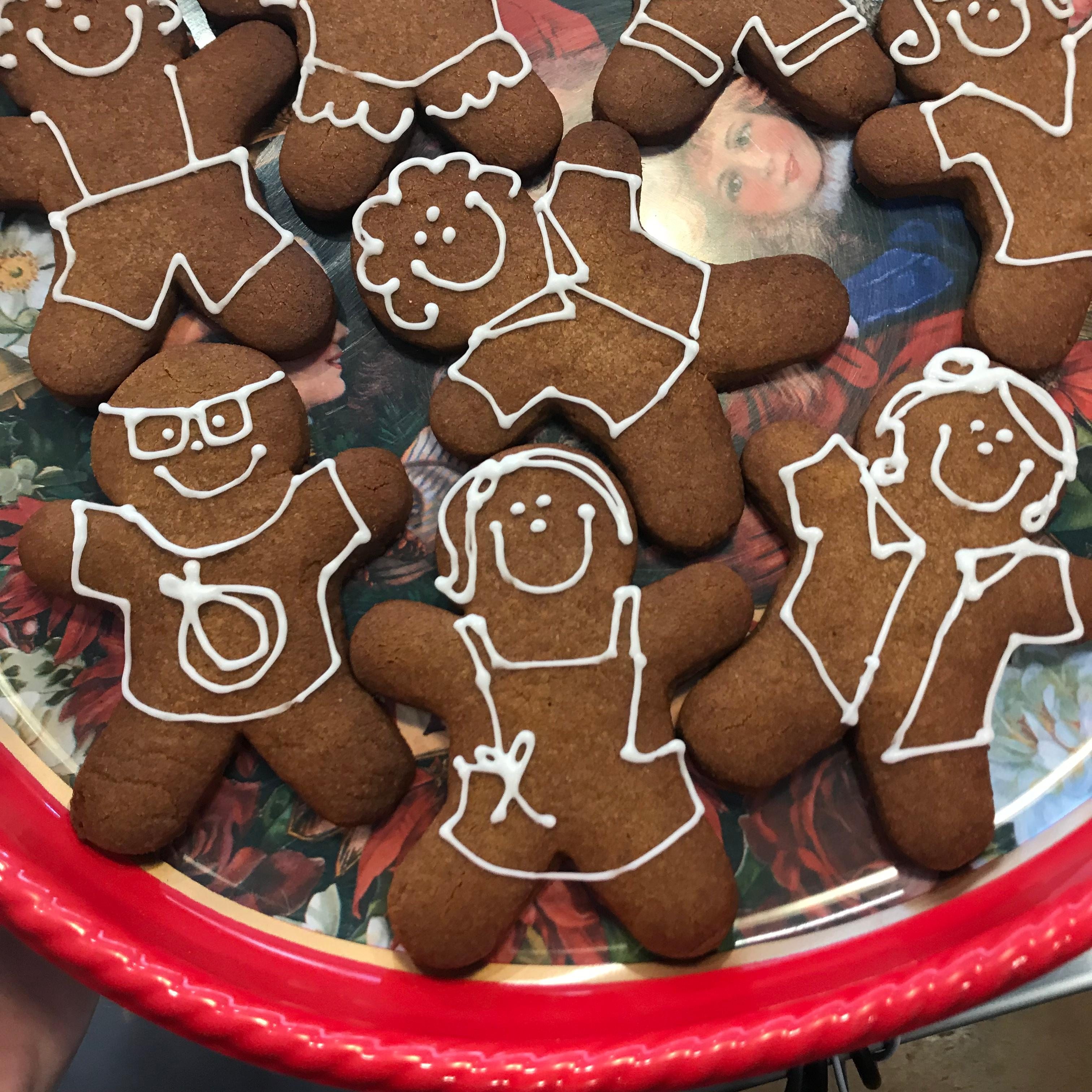 Pick up gingerbread men and women, Christmas tree meringue cookies and Yule logs with your choice of cake and frosting. (Image: Courtesy Red Bandana){&amp;nbsp;}<p></p>
