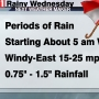 Storm Watch: Rain and wind move in Wednesday