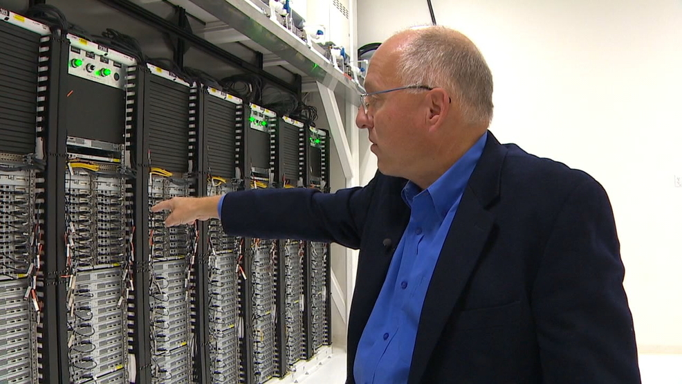 'First of its kind' new computer data center powered by ...