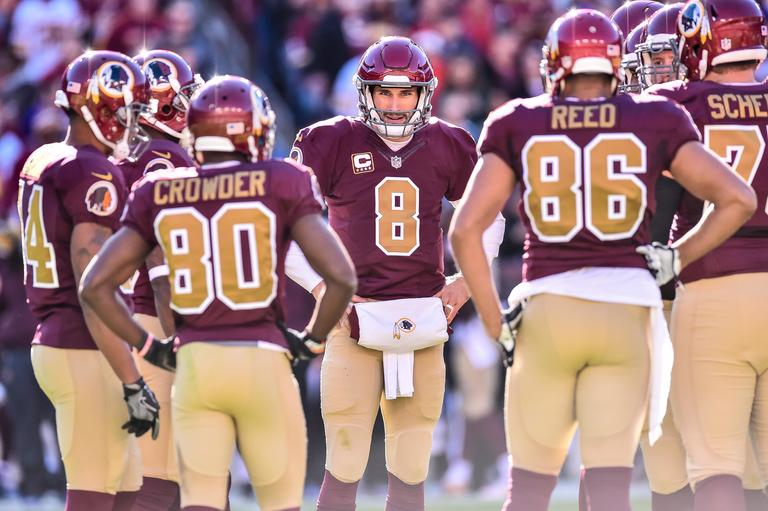 Cousins has already been linked to a number of teams, including the Jets, Cardinals, Browns, Broncos and Jaguars. (Image: Garrett Campbell/ Washington Redskins)<p></p>