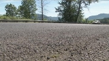 Segments of Hwy 58 road surface falling apart a year after chip seal