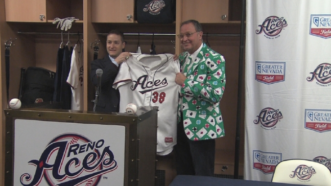 Reno Aces introduce Jerry Narron as new manager