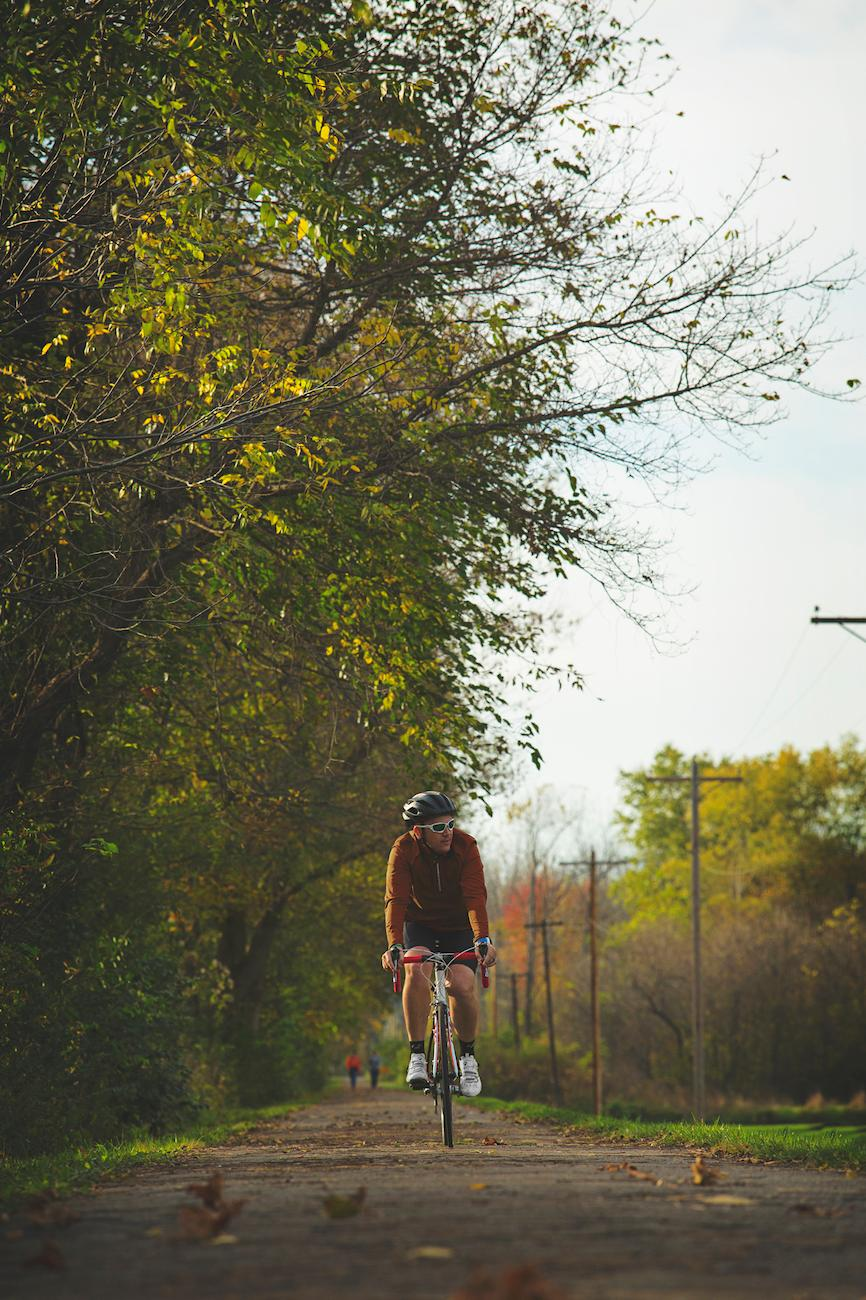There are over 40 miles of paved, multi-use trails throughout Licking County, including the Buckeye Scenic Trail and Ohio Canal Greenway, which travels along the former canal tow path. / Image: Garrett Martin via Explore Licking County // Published: 8.23.19