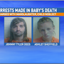 High Springs couple charged with manslaughter in death of 18-day-old infant