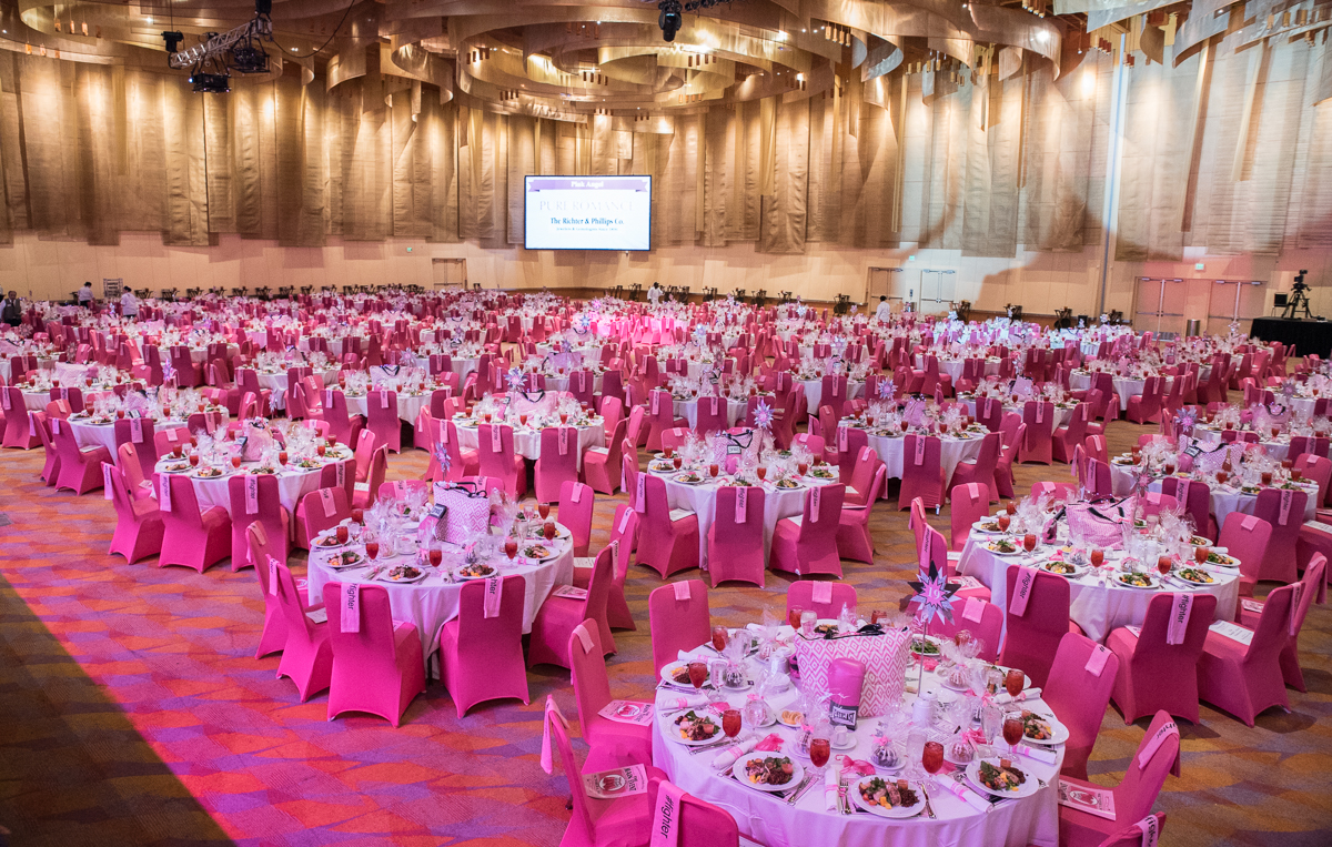 The 15th annual Pink Ribbon Luncheon was held at the Duke Energy Convention Center on Thursday, October 6, 2016. / Image: Sherry Lachelle Photography