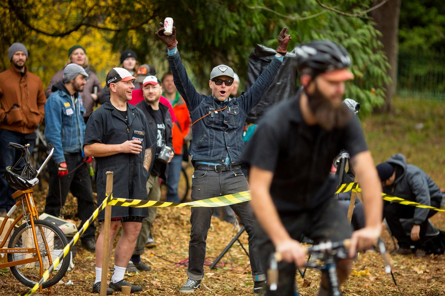 Just when you thought you'd seen it all! Cyclocross is a super specific type of bicycle racing, and Seattle had it's very own event this past weekend (November 19, 2017). Racers participated in the off-road/on-road course, which sometimes included pavement, sometimes grass, and sometimes - mud! (Image: Sy Bean / Seattle Refined)