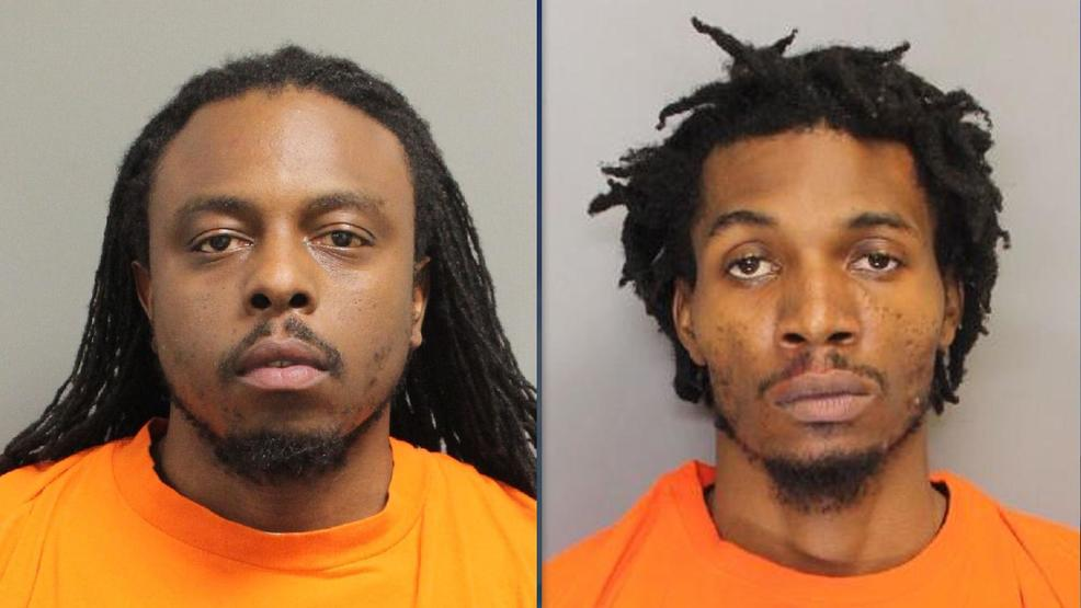 North Charleston armored truck robbery suspects Rashad Dingle [L}, Devon Brown (Dorchester County Detention Center).jpg