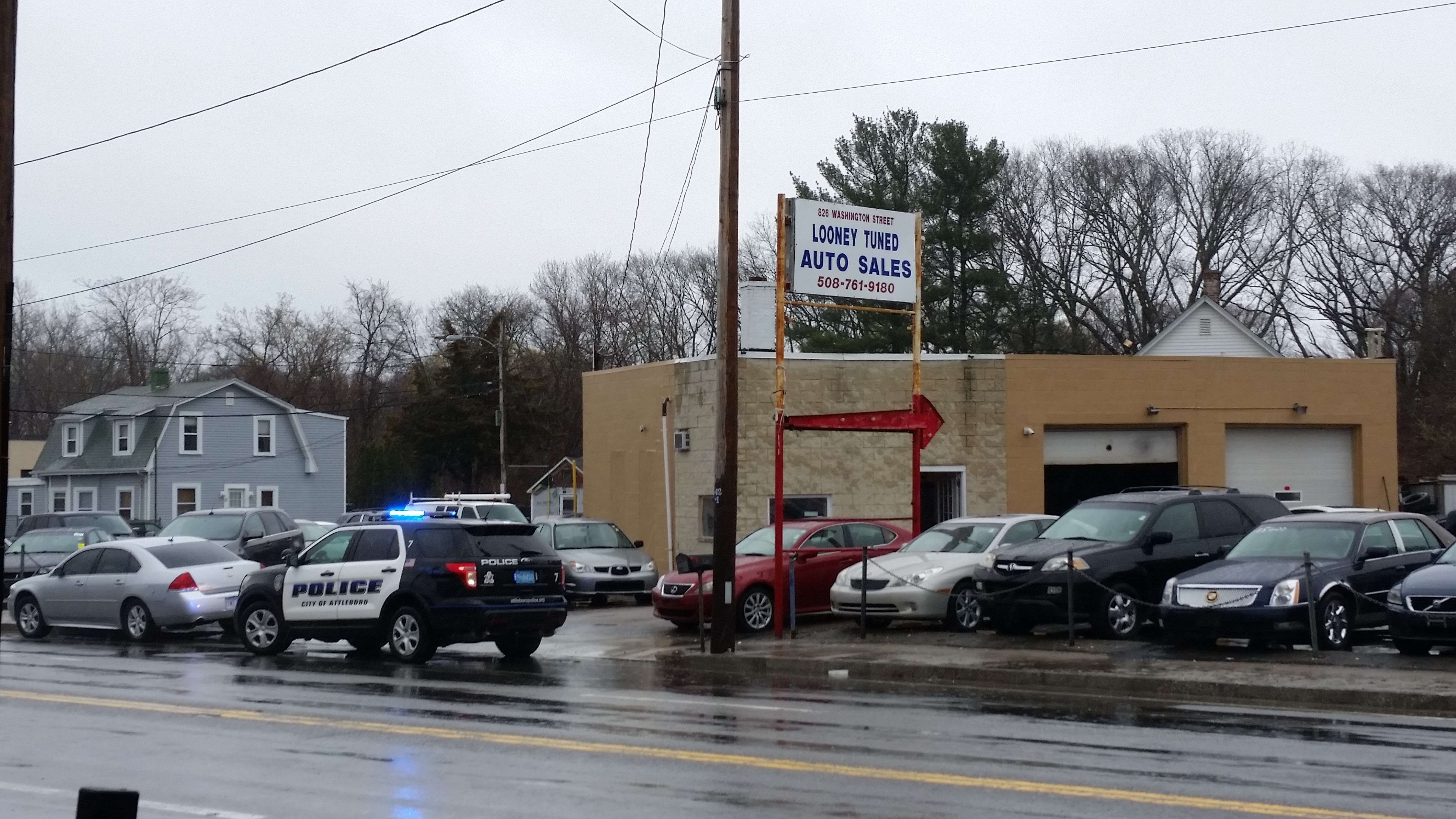 Police uncover illegal distribution at Attleboro car lot 1