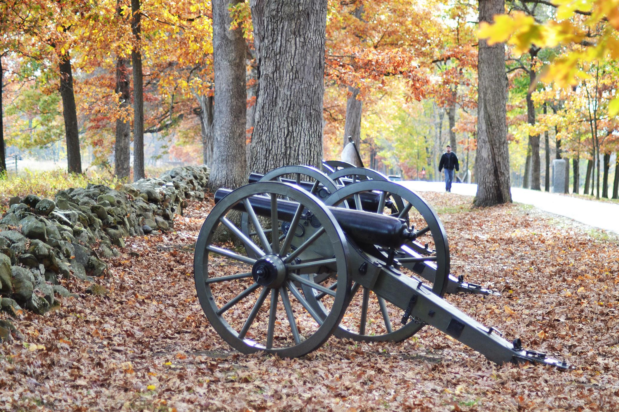 One of the more than 400 cannon on display at Gettysburg National Military Park. (Photo courtesy of Destination Gettysburg)