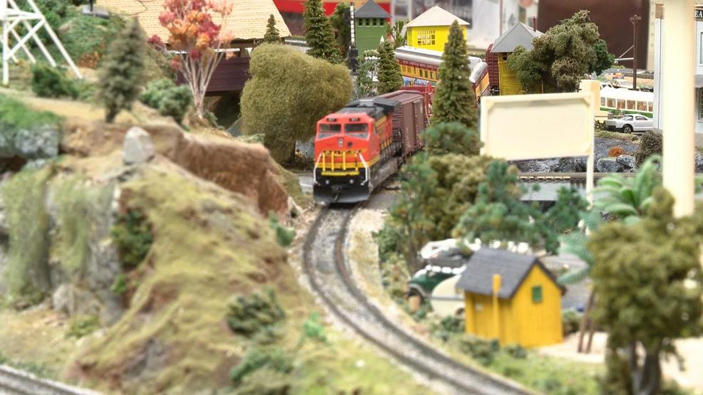 Model trains continue to spark joy at Christmas