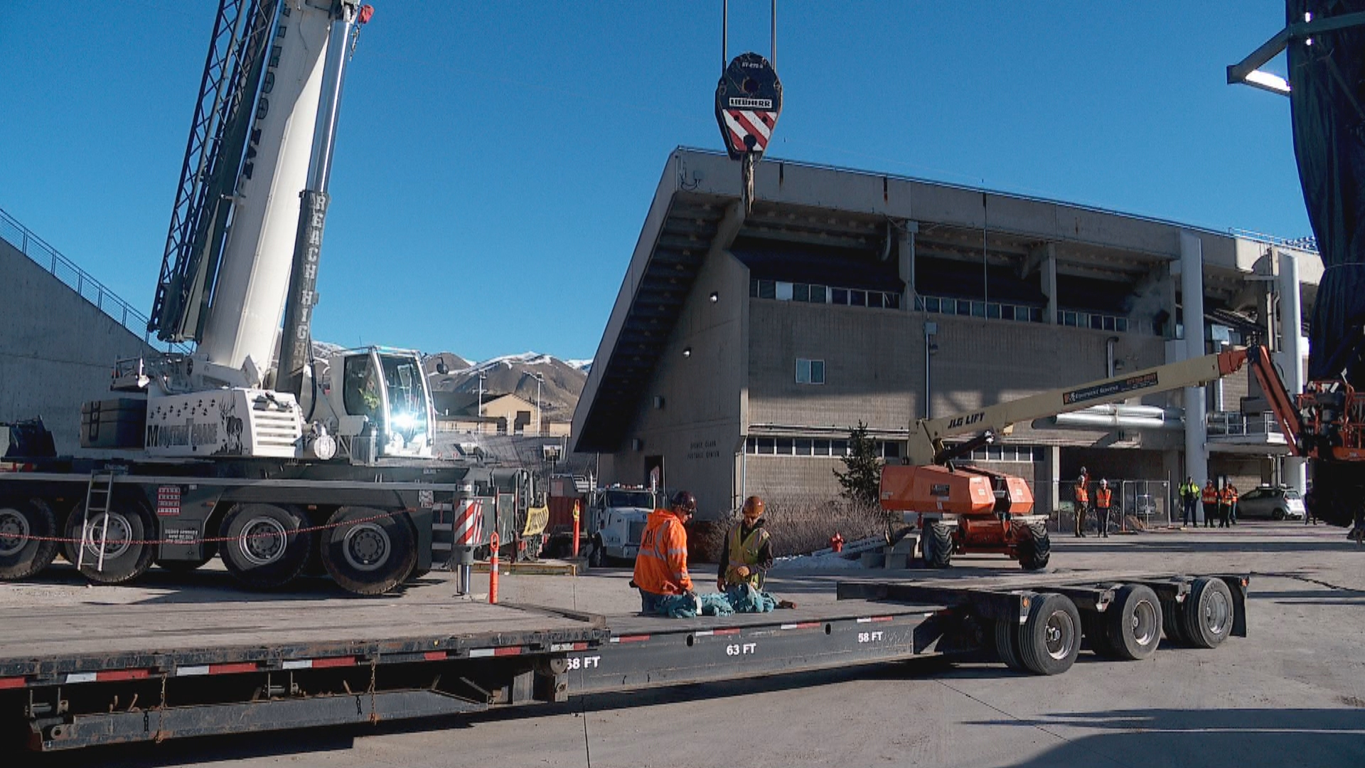 Olympic cauldron set for relocation, refurbishment (Photo: KUTV)