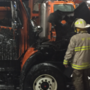 Saginaw County Road Commission truck a 'total loss' following garage fire