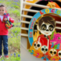 Boy's ultimate Fiesta, 5th birthday celebration with Coco photo shoot, Fiesta medal